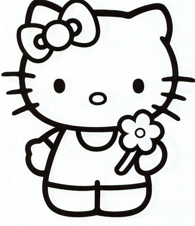 Girly Pictures To Colour In Coloring Page Cvdlipids Hello Kitty Coloring Hello Kitty Colouring Pages Hello Kitty Drawing