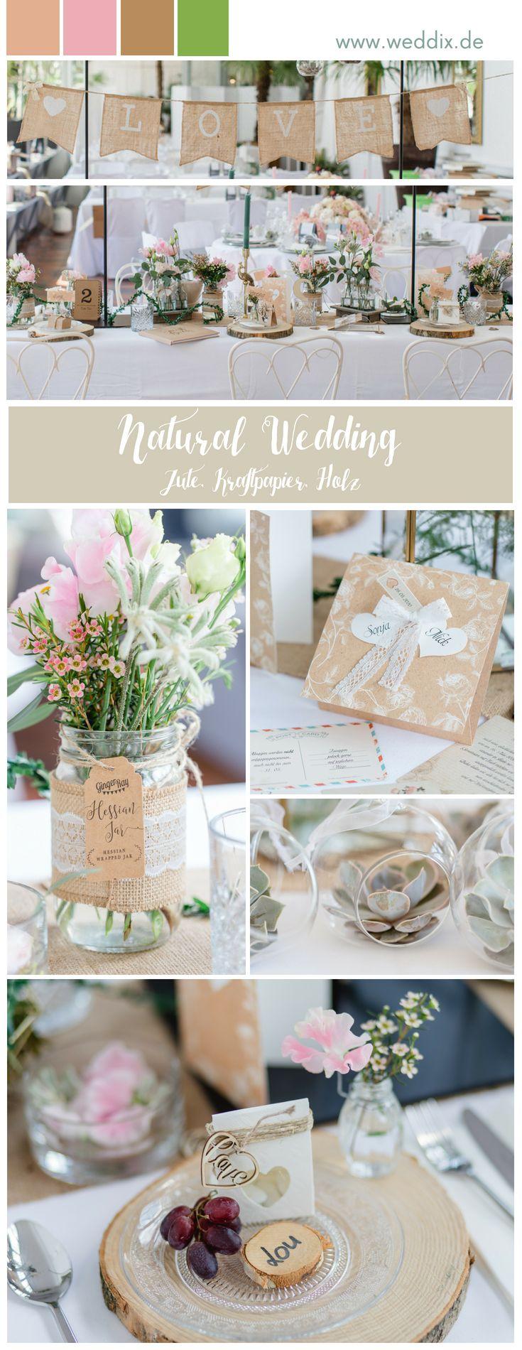 Inspiratie Natural Wedding ❤️ patroon tafel #natural wedding #wedding #nature # …  – Mustertische Hochzeit
