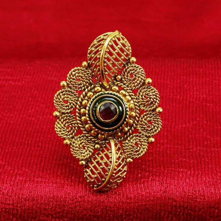Ethnic #Bollywood Indian Women Party #Ring Just In 	 £5.03