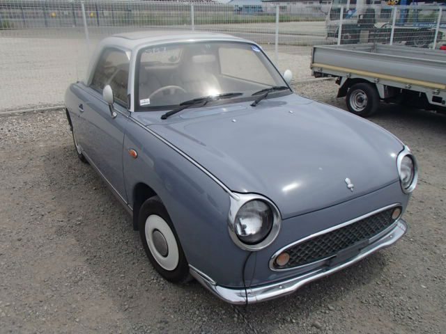 NISSAN FIGARO CONVERTIBLE CABRIOLET AUTOMATIC AUTO - Automatic classic cars