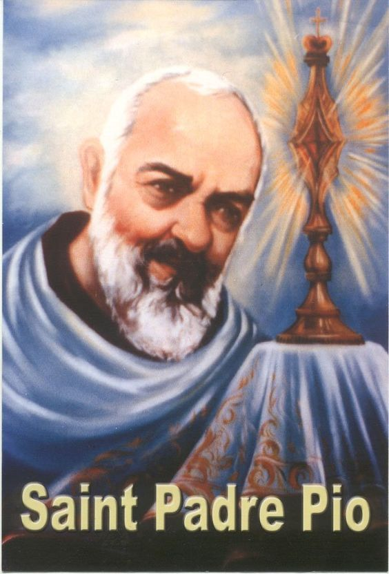 "Thought for the Day – September 23 #pinterest #stpadrepio At Padre Pio's canonization Mass in 2002, Saint John Paul II referred to that day's Gospel (Matthew 11:25-30) and said: ""The Gospel image of 'yoke' evokes the many trials that the humble Capuchin of San Giovanni Rotondo endured. Today we.........."
