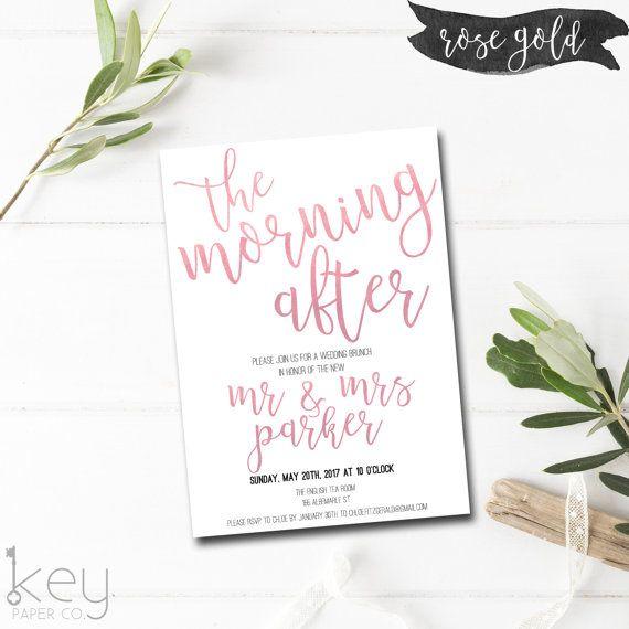 25+ best ideas about brunch invitations on pinterest | bridal, Wedding invitations