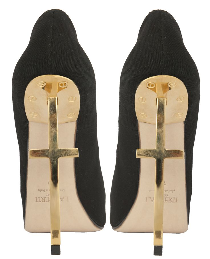 Lamperti Milano Crux Pumps Italian Fabric