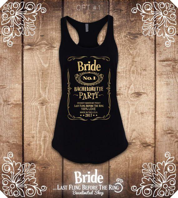 Whiskey Bachelorette Shirt. Bachelorette Party Shirts. Bride