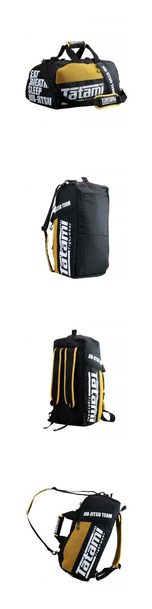 Other Combat Sport Supplies 16044: Tatami Mma Jiu Jitsu Gear Gym Bag - Yellow -> BUY IT NOW ONLY: $69 on eBay!