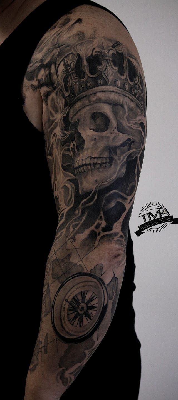 Tatuaje realistice / tattoo relist greywash