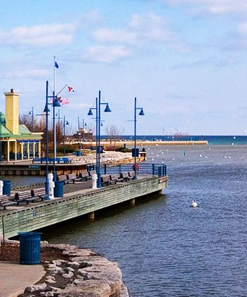 Learn about the little town of Port Credit in this Quest   By the Water #discover #tour #adventure #portcredit #toronto UrbanQuest.com