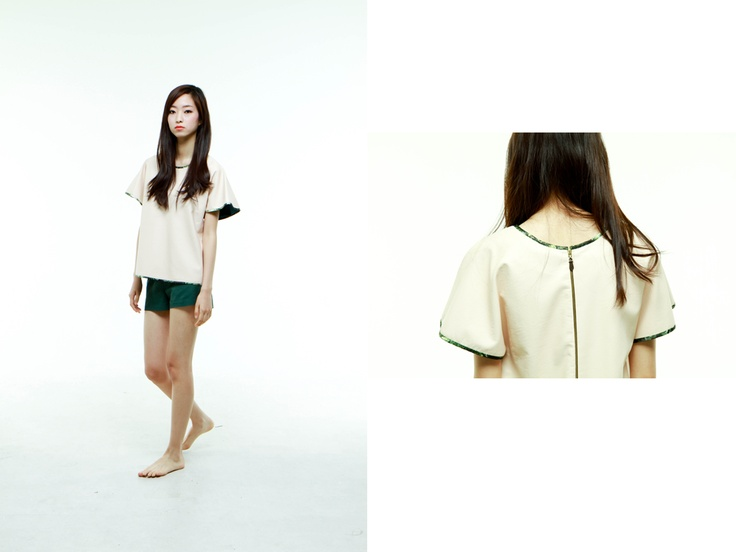 al,thing - Synthetic leather top