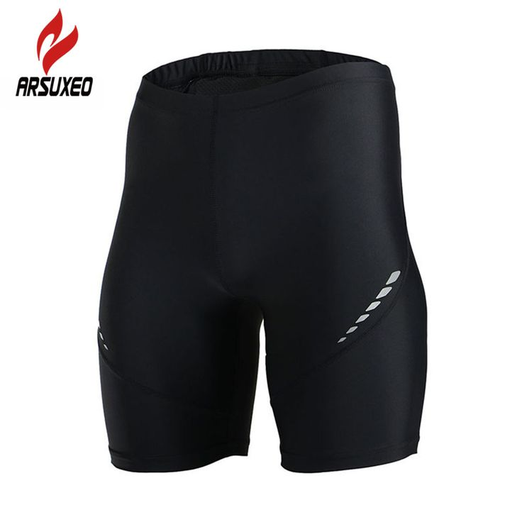 ARSUXEO Men Outdoor Sports Running Shorts Compression Tights Gym Bodybuilding Fitness Basketball Training Jogging Base Layers #Affiliate