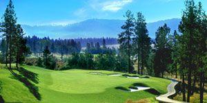 Circling Raven Golf, Coeur d'Alene Casino Resort Hotel, Coeur d'Alene, Idaho