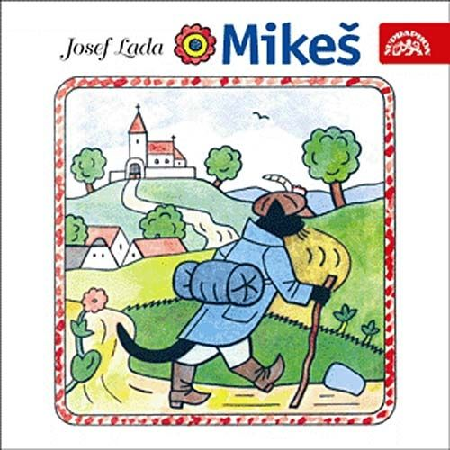 "Book called ""Mikeš"" written and drawn by Josef Lada"