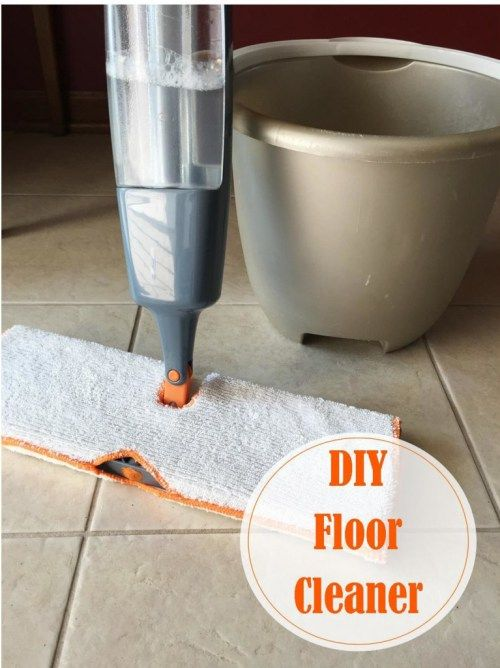 DIY Floor Cleaner For Linoleum And Tile Floorcleaning