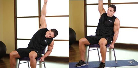 Lat stretches for flexibility of back muscles for fast results. It really helps in extending muscle fibers. Procedures explained in detailed with pictures.