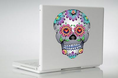 I need a lap top :)Vinyls Decals, Cars Decals, Sugar Skull, Sugar Kull, Of The, Dead, Day, Vinyl Decals, Decals Stickers