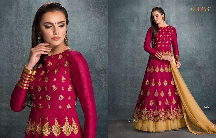 Indian Bollywood Ethnic Designer Anarkali Salwar Kameez Suit & Traditional 1601G