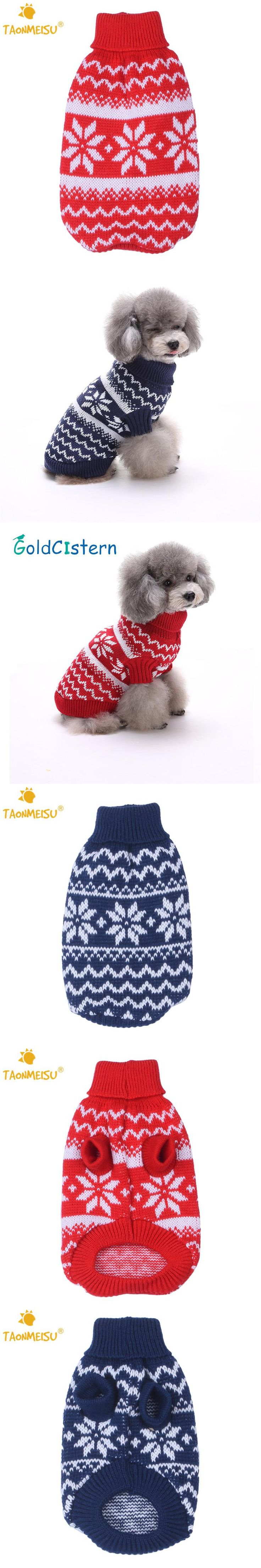 Best 25 dog christmas sweaters ideas on pinterest dog christmas pet dog cat warm clothes dog christmas sweaters snow fashion festive apparel coat puppy kitten clothes bankloansurffo Images