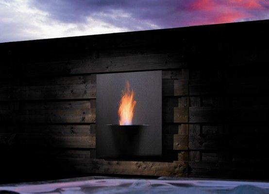 17 Best Ideas About Modern Outdoor Fireplace On Pinterest Outdoor Fire Places Backyard
