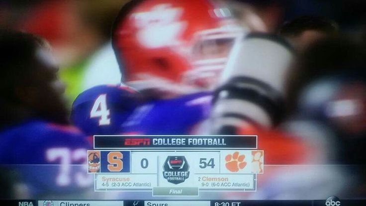 Clemson vs Syracuse