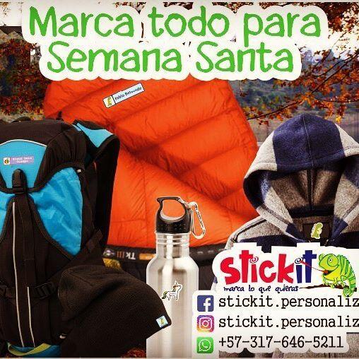Si van de camping o a campo de verano, marca todas las cosas con Stickit stickers personalizados para ropa, zapatos y cosas. Muy resistentes! #marquillas #stickerspersonalizados #marcaturopa #summercamp