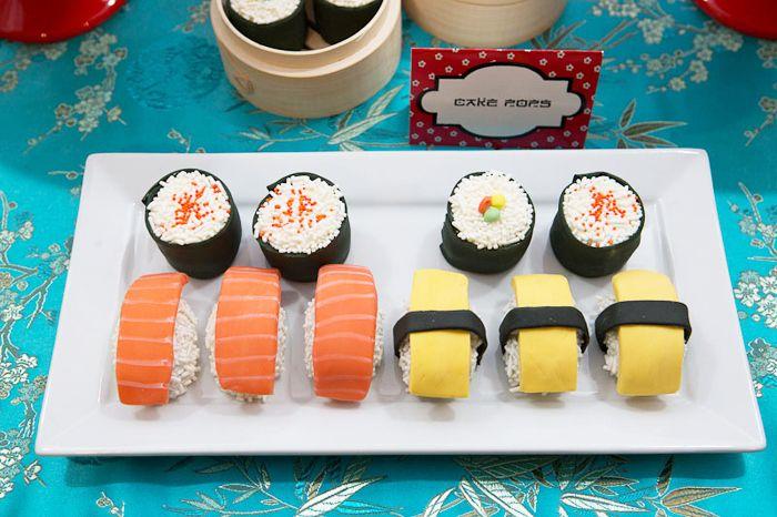 Japanese Sushi Guest Dessert Feature | Amy Atlas Events