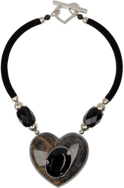 Giorgio Armani Necklace in Black (noir)