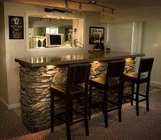 basement bar ideas on a budget | Home Bar Design