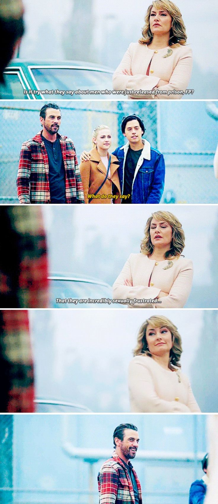 """Riverdale 2x08 *""""Is it TRUE what they say"""" >>but I really liked this scene"""