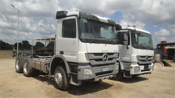 Mercedes-Benz ACTROS 3340, 6x4, 2011, tractor. Auction