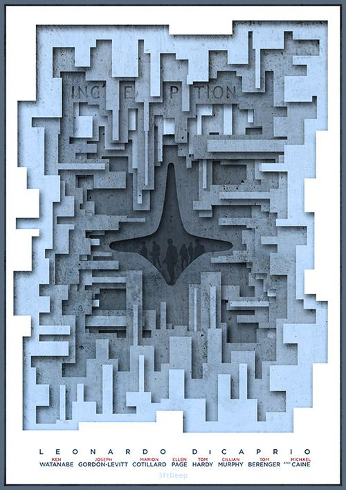 Inception by 3ftDeep #movies #posters