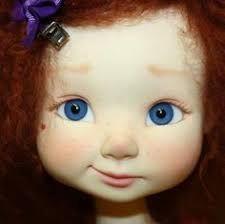 Resultado de imagen para cloth doll sculpting faces