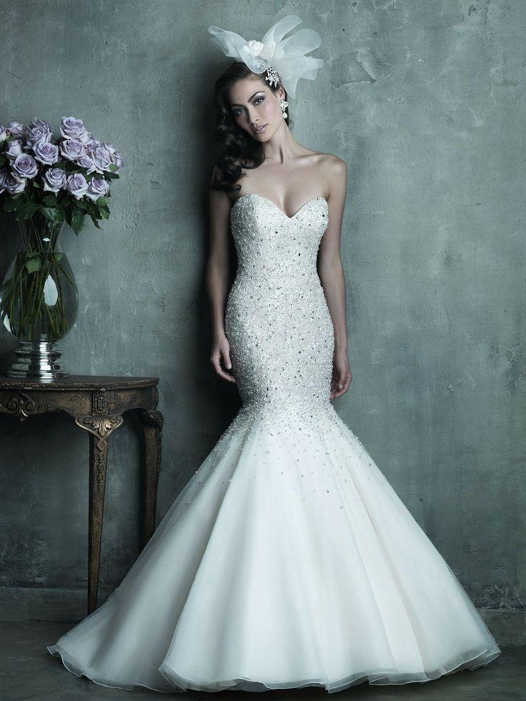 747 best Wedding Dresses images on Pinterest | Wedding dress ...