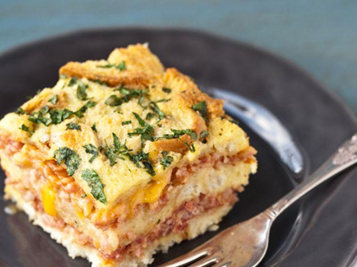 Σουφλέ με ζαμπόν και τυρί