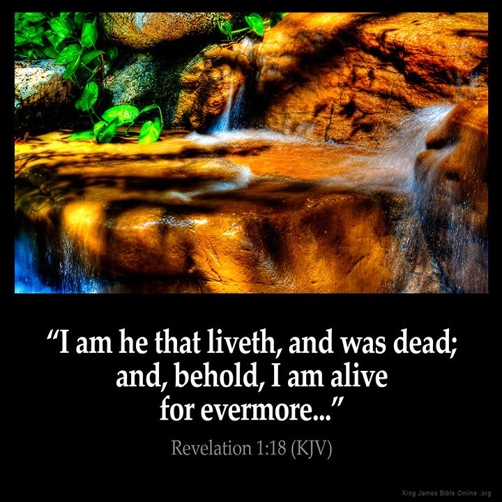 Revelation 1:18  I am he that liveth and was dead; and behold I am alive for evermore  Revelation 1:18 (KJV)  #Bible #KJV #KingJamesBible #quotes  from King James Version Bible (KJV Bible) http://ift.tt/1rOQz96  Filed under: Bible Verse Pic Tagged: Bible Bible Verse Bible Verse Image Bible Verse Pic Bible Verse Picture Daily Bible Verse Image King James Bible King James Version KJV KJV Bible KJV Bible Verse Pic Picture Revelation 11:8 Verse         #KingJamesVersion #KingJamesBible #KJVBible…