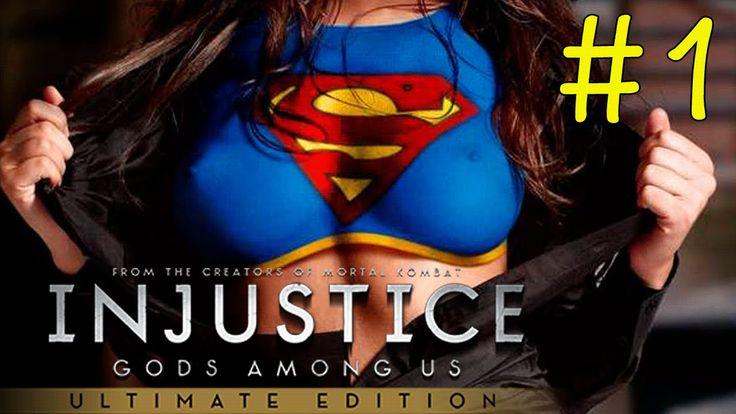 Играем в INJUSTICE GODS AMONG US (PS4) - Страшитесь света фонаря #1