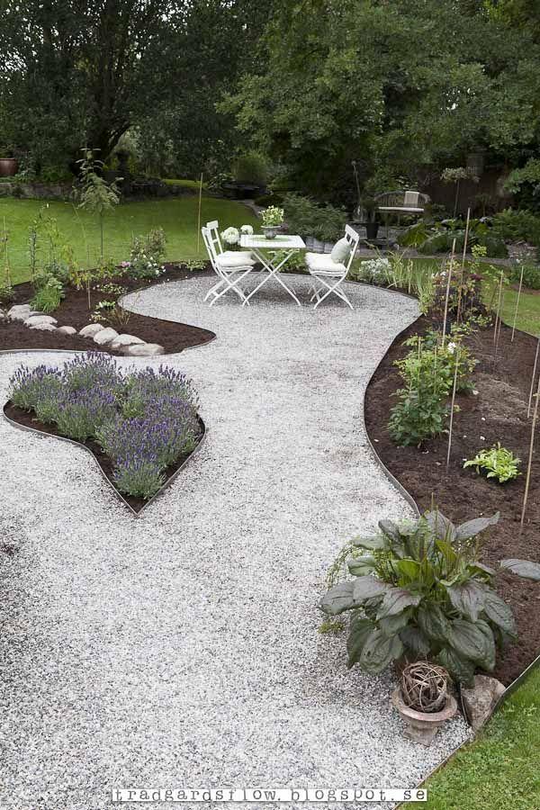 Trädgårdsflow: Rabatter