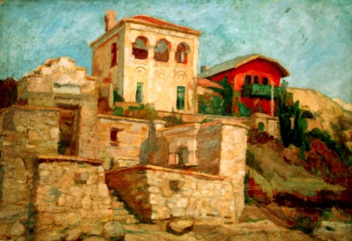 Cecilia Cuţescu-Storck, Cecilia; Vila de la Balcic
