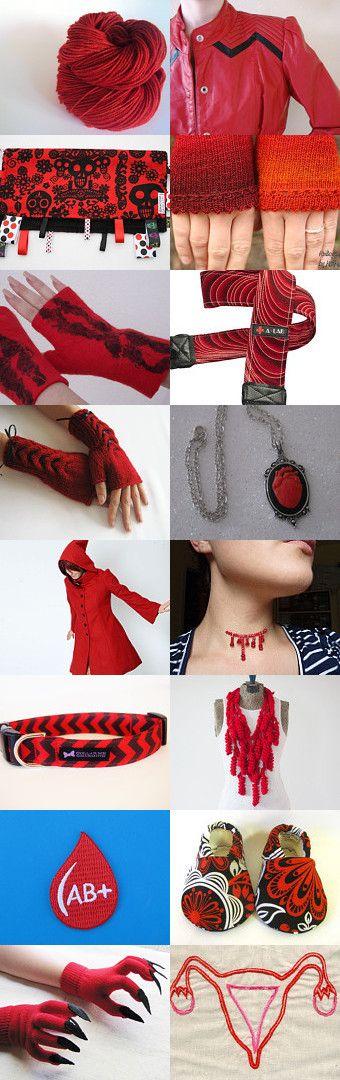 Bloody Winter xD by Patricia Stockebrand on Etsy