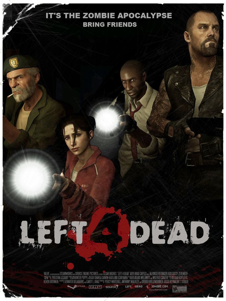Browse Art Left 4 Dead Dead Movie Posters