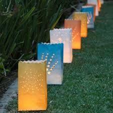 paper bag lights