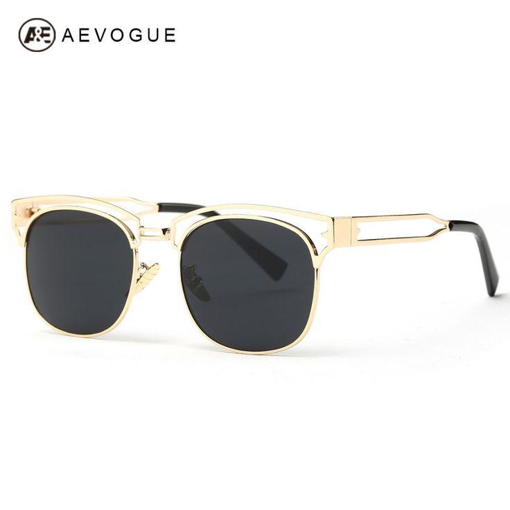 Polygonal Colorful Lady Lunettes de Soleil Reflective Fashion Metallic Sunglasses , or Cadre or Et Argent