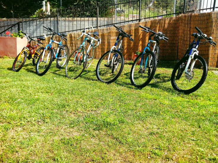 FREE bicycles for our guests!