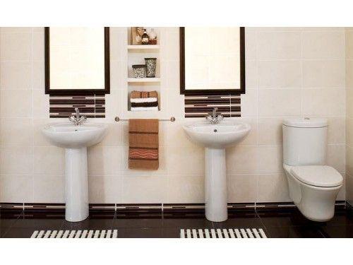 White Iqwa Basin Set