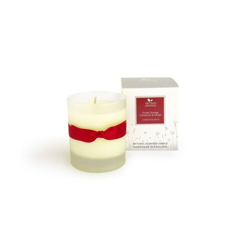 Christmas Spice candle - Sweet Orange, Cinnamon and Ginger