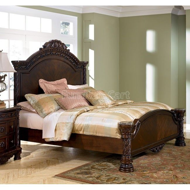 Dark Wood Bedroom Furniture 18 best ashley images on pinterest | master bedroom, bedroom decor
