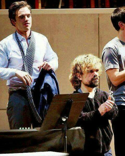 Bucky Barnes and Tyrion Lannister - how awesome is this?!?!