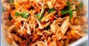 Crock Pot Tex Mex Cheesy Chicken 'N' Rice…Healthy Recipe ...