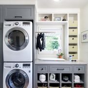 Laundry Room In Master Closet Design Ideas, Pictures, Remodel and Decor