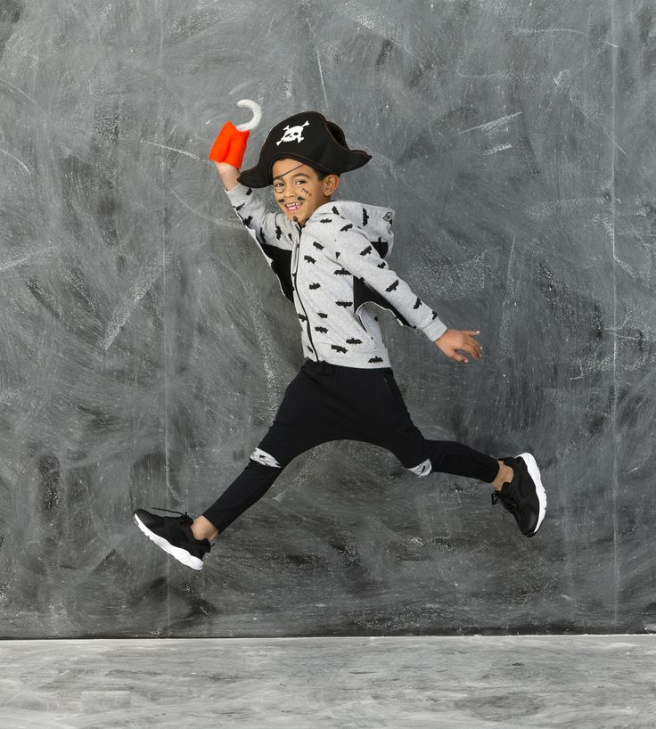 We are too cute to SPOOK! Meet the Pirate Bat! Shop our NEW Halloween Range now by clicking the image! #cottononkids #toocutetospook #halloween