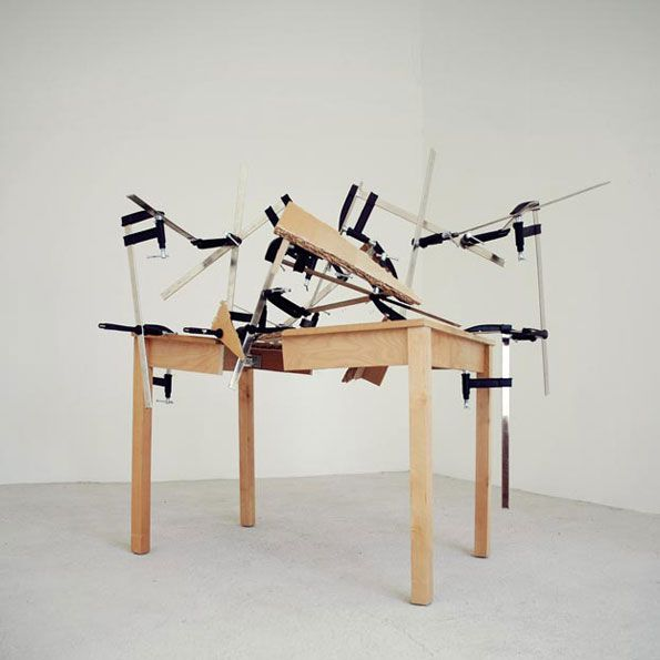 Exceptional ART WITH CLAMPS
