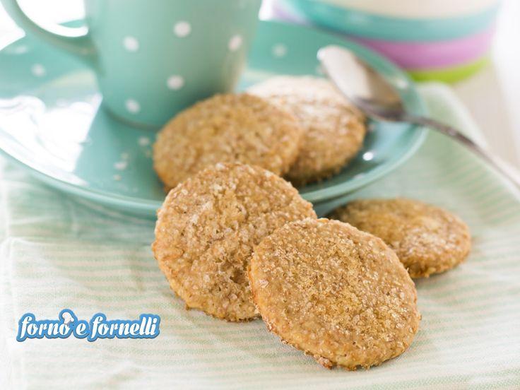 Biscotti allo yogurt con farina integrale